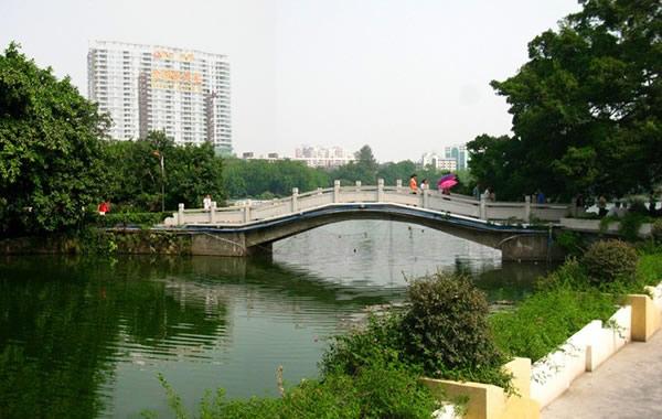 广州中秋节去哪里玩?到流花湖公园赏月!