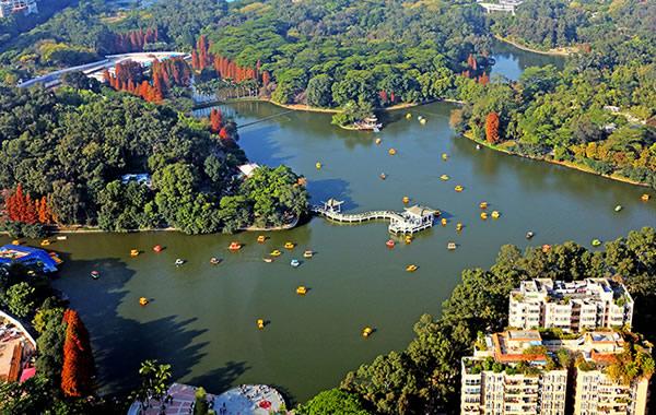 广州中秋怎么过?到天河公园来个休闲游!