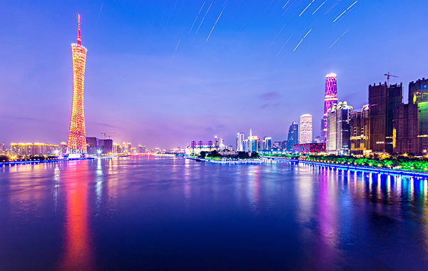 中秋赏月可以去哪里?去看看广州塔璀璨夜色!