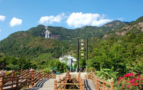 广州周边中秋好去处:增城白水寨