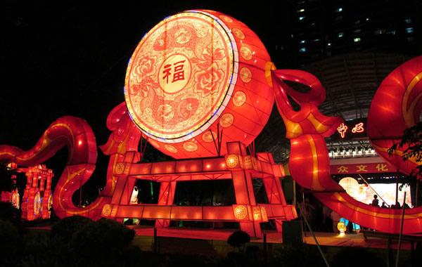 2016年广州文化公园中秋灯会来了!