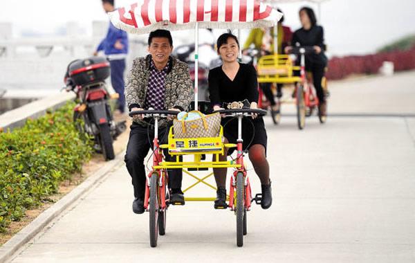 广州情侣怎么过中秋节?去海鸥岛骑行吧!