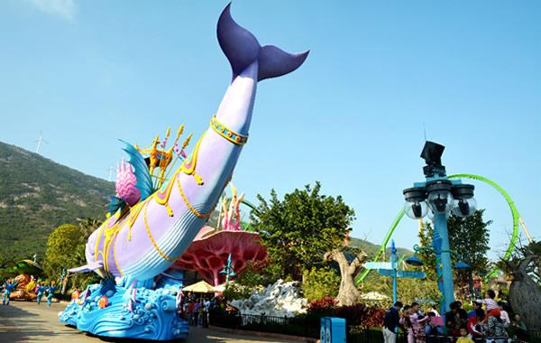 广州中秋去哪玩儿?珠海长隆海洋王国!