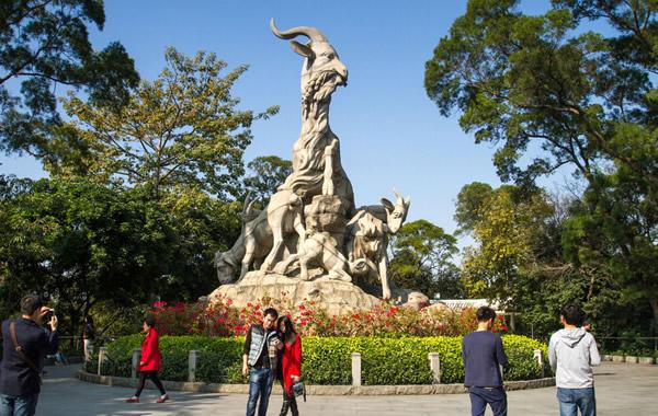 重阳节登高景点推荐:广州越秀山