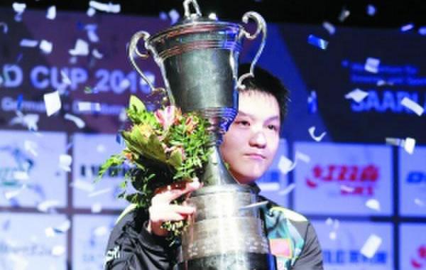 广州仔樊振东成最年轻世界乒乓球冠军