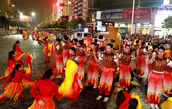 广东佛山重阳习俗之祖庙秋祭