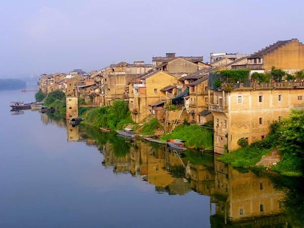 梅州松口古镇入选广东文化地标