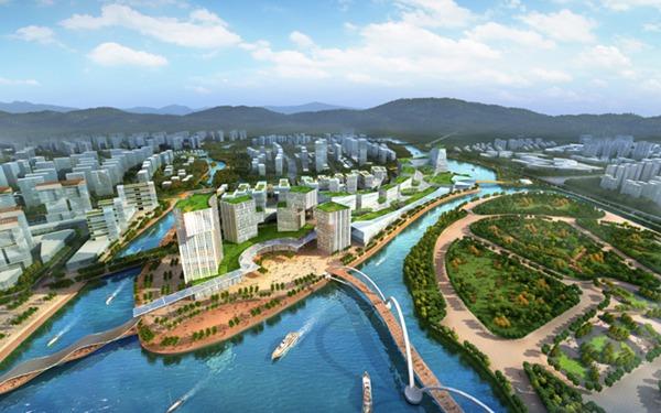 广州地铁知识城线土建完成近七成
