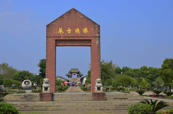 11月初旅游到珠玑古巷探访岭南文化