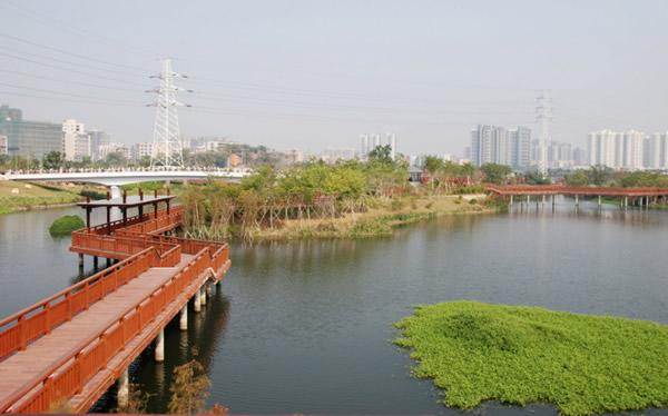 花都湖成广州第三个国家水利风景区
