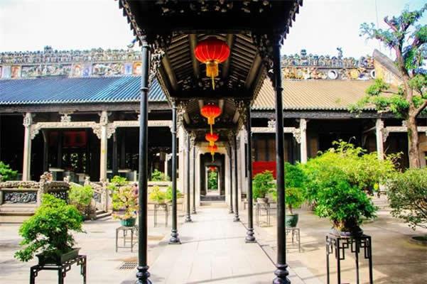 广州旅游最值得去的地方:陈家祠