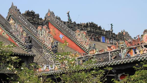 广州陈家祠:岭南建筑艺术的一颗明珠