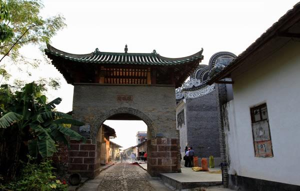 韶关南雄珠玑古巷的历史进程