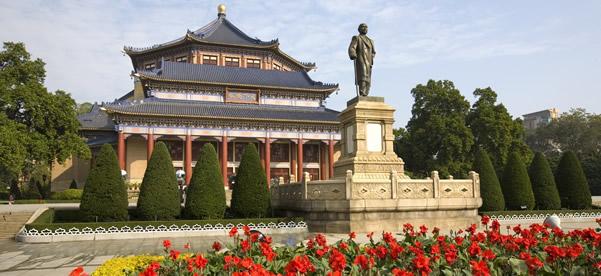 广州一日游探讨中山纪念堂的秘密!