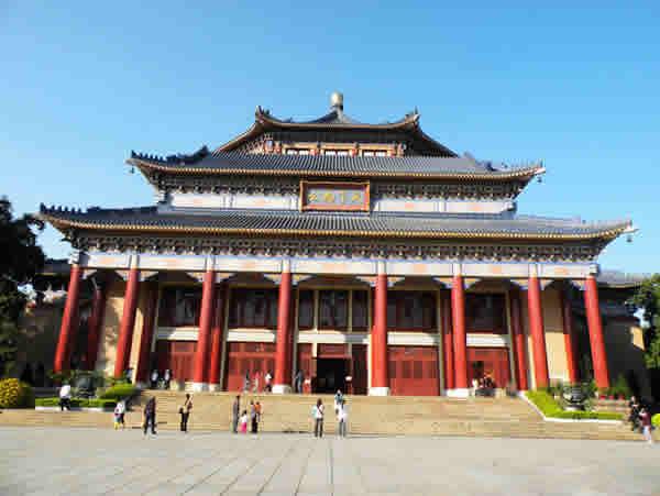 广州中山纪念堂一日游24个秘密景点探秘