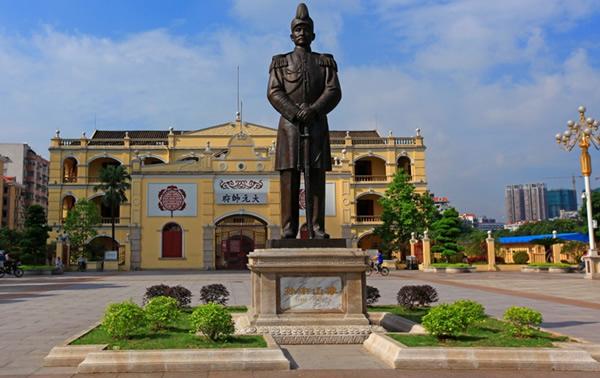 广州一日游热门景点:大元帅府旧址