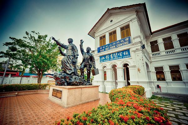孙中山在马来西亚槟城的革命经历