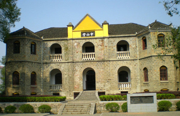 广州一日游好去处:黄埔军校旧址建筑