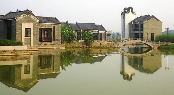 十二月最佳旅游地点:四面环水的小洲村③