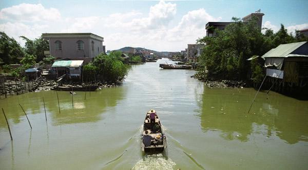 一月旅游到番禺访寻海鸥岛的故事