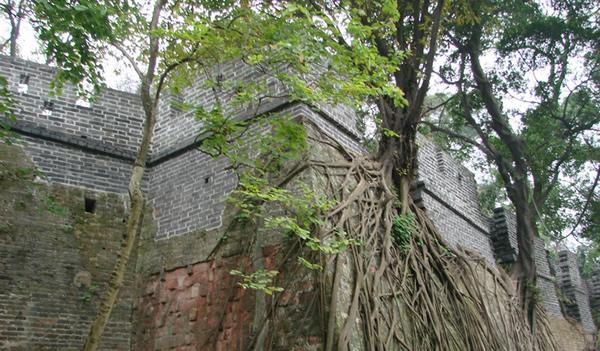 周末旅游到越秀山古城墙探秘吧!