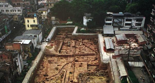 南越王宫博物馆访寻千年前的海上丝绸之路