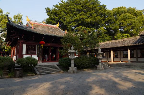 广州光孝寺的历史遗迹