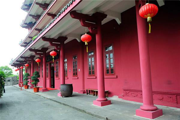 羊城八景之镇海楼广州博物馆