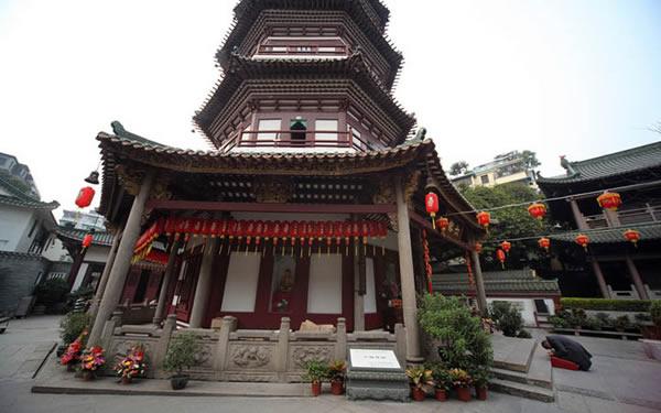 王勃与广州六榕寺