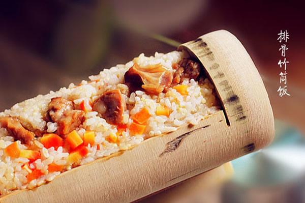 春节旅游到从化溪头村吃竹筒饭
