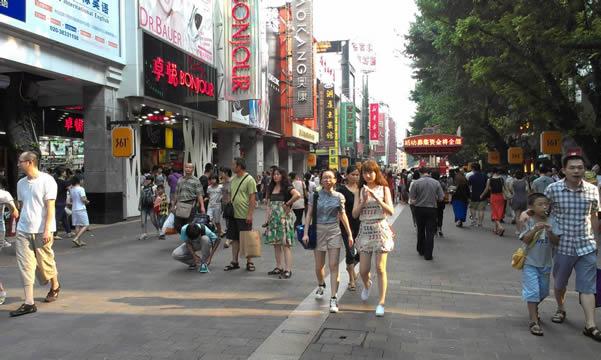 春节到广州北京路购物一日游