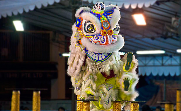 元宵节为什么要舞狮子?