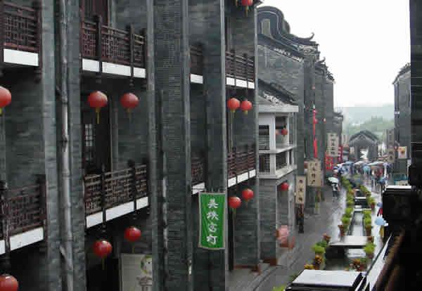 广州岭南印象园的市井风情