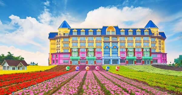 广州百万葵园花之恋酒店游记
