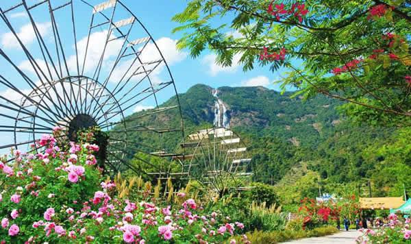 阳春三月到增城白水寨旅游
