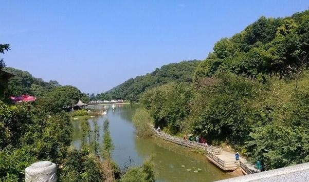 周末旅游到广州帽峰山吃烧鸡吧!