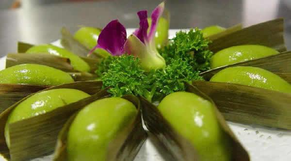 清明节的传统美食之青团