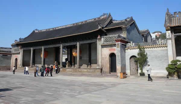 广州番禺沙湾古镇留耕堂历史探秘