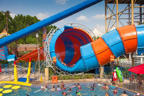 广州长隆水上乐园今日开园,试试新增按摩池!