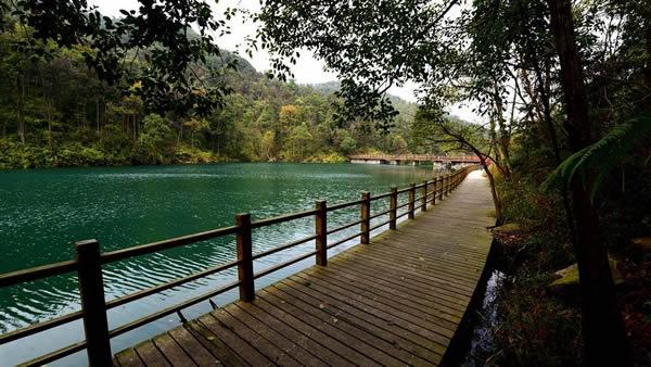 五一旅游王子山森林公园寻幽探秘