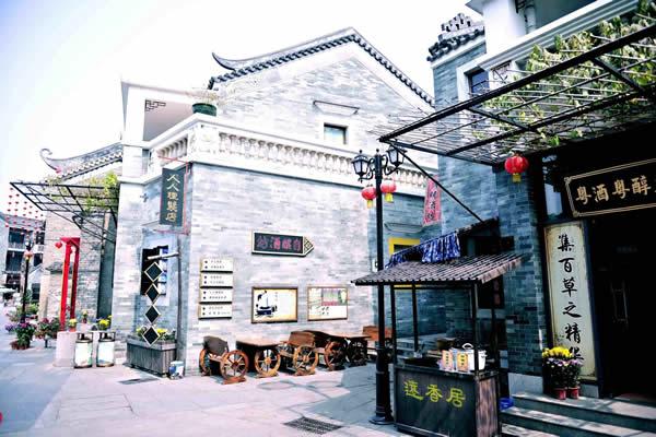 五一旅游到广州岭南印象园体验市井风情