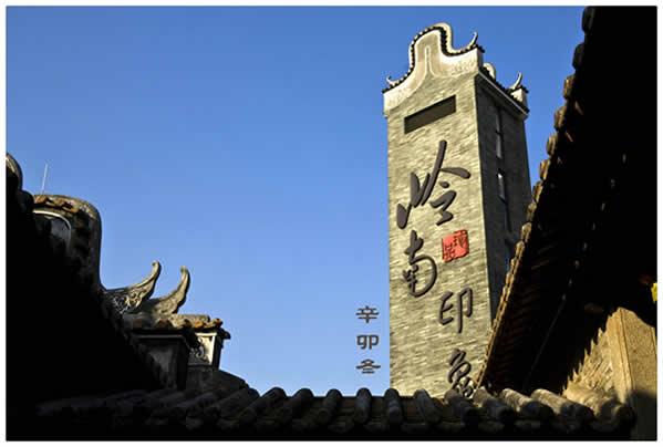 五一旅游到岭南印象园欣赏民国市井风情