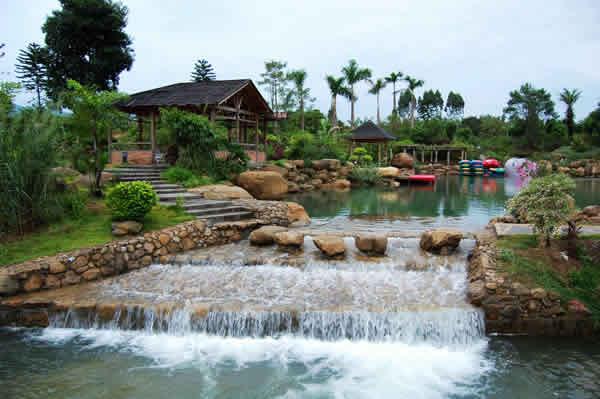 五一旅游到广州增城白水寨消暑度假吧!