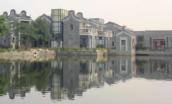 五一游览广州岭南印象园乡土景观