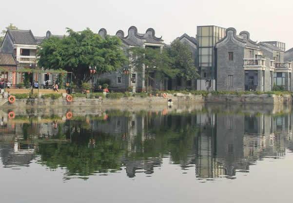 五一旅游到广州岭南印象园看怀旧建筑吧!