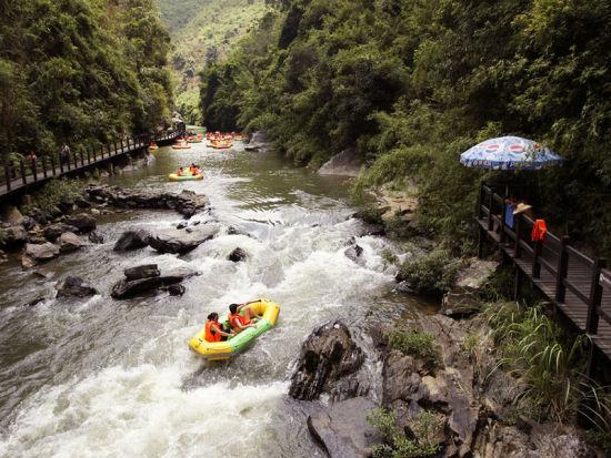 五一小长假广州从化响水峡旅游攻略推荐