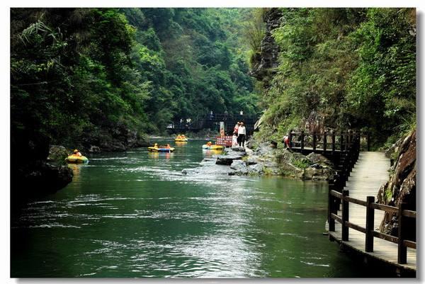 广州五一亲子游热门景点:从化响水峡