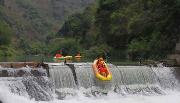 广州五一旅游热门景点:响水峡生态景区