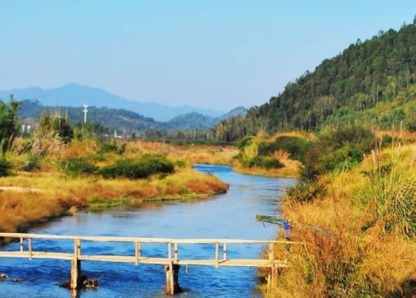 五一小长假到从化响水峡欣赏田园美景