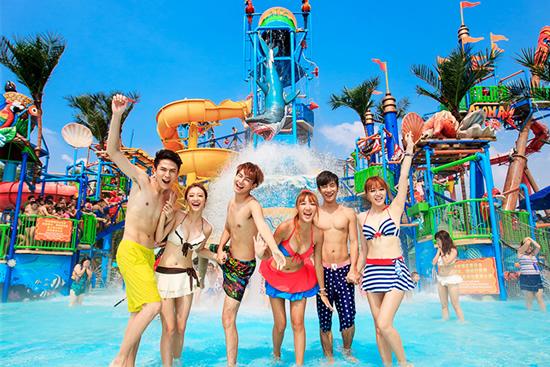 7月中旬去哪儿旅游广州长隆水上乐园有什么好玩的